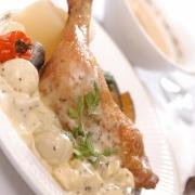 フランス料理(とり肉)
